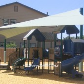 Tensile Fabric Structure Shades Solano County Playground