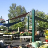 Architectural Shade Sails NorCAL Nursery