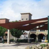 Tensile Structure NorCAL Town Center