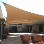 Courtyard Shade Sails Cover Patio