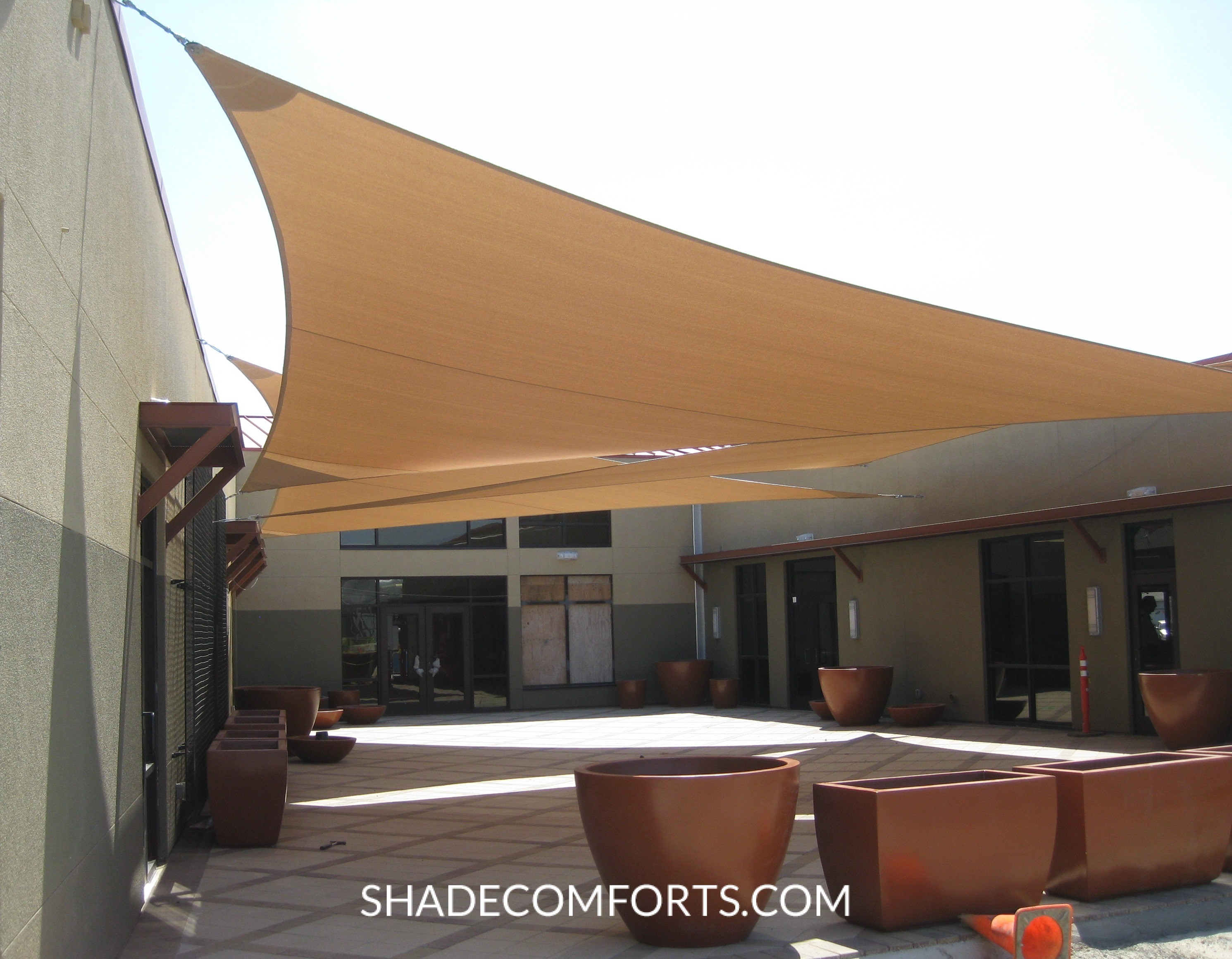 custom shade sails contractor northern and southern california