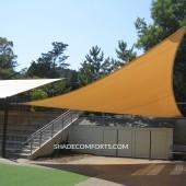 Tensile Structure  – Bleacher Shade Awning – Patio – California