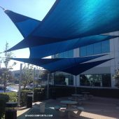 Tensile Fabric Membrane Shade Structure Contractor